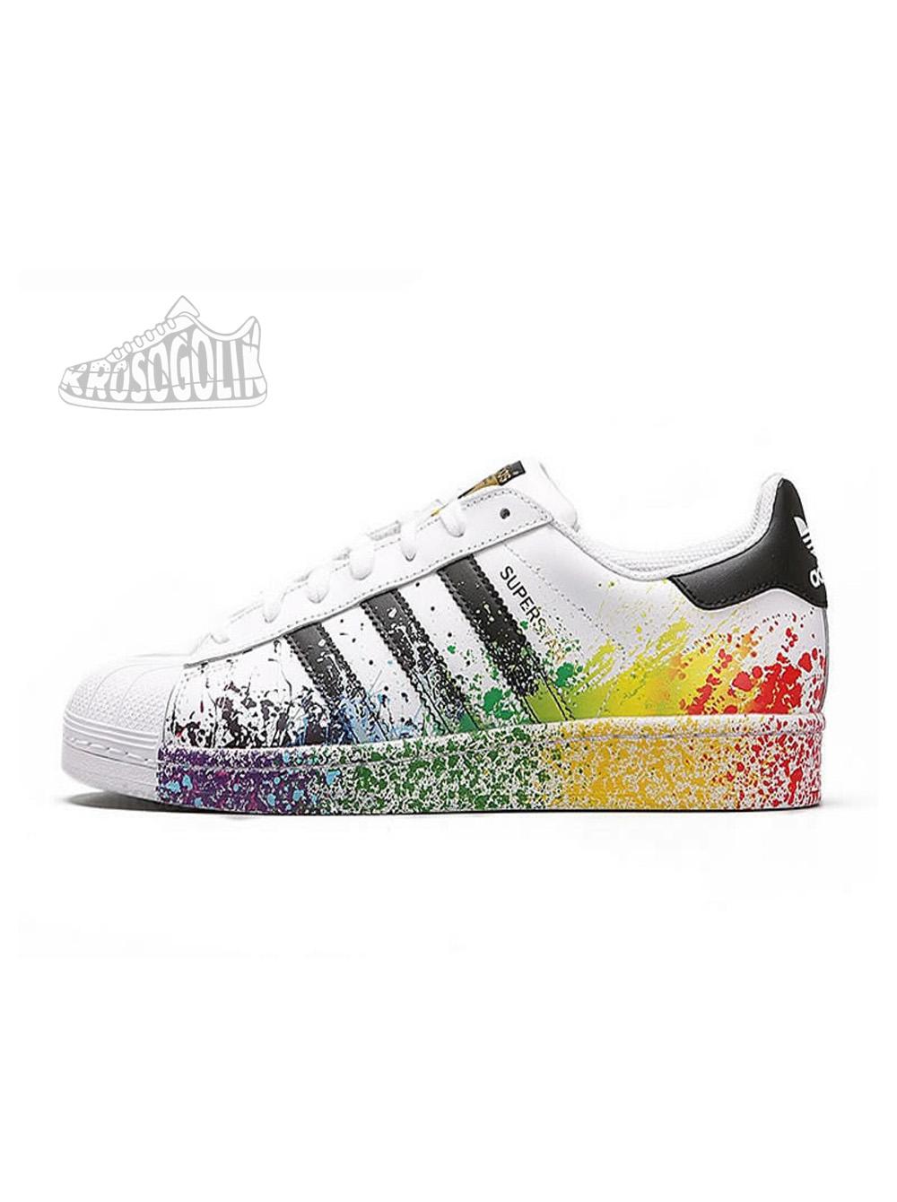 meet 11494 55e66 Adidas Superstar Splash Sneakers Multi Color
