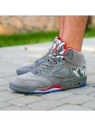 Nike Air Jordan 5 Retro Dark Stucco/University Red/River Rock