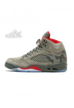 Nike Air Jordan 5 Retro Dark Stucco/University Red/River Rock