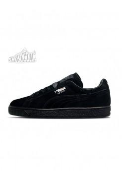Кроссовки Puma Suede Triple Black Classic+
