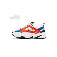 Nike M2K Tekno (Summit White / Black - Team Orange)
