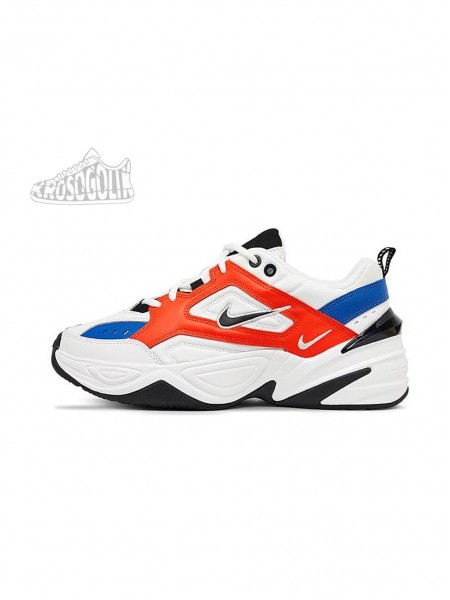 Nike M2K Tekno (Summit White / Black - Team Orange)