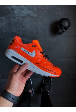 """Кроссовки Nike Air Max 1 """"Just Do It"""" Black"""