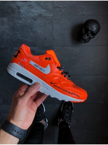"Кроссовки Nike Air Max 1 ""Just Do It"" Black"