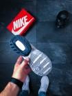 Кроссовки Nike M2K Tekno (Summit White / Black - Team Orange)