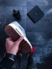 Кроссовки Nike Air Max 90 SE Leather GS (Metallic Red Bronze )