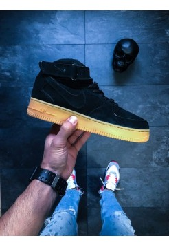 Кроссовки Air Force 1 Low Black Gum