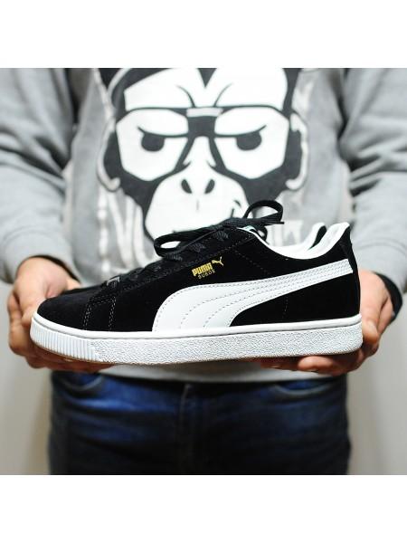 Кроссовки Puma Suede Classic Black