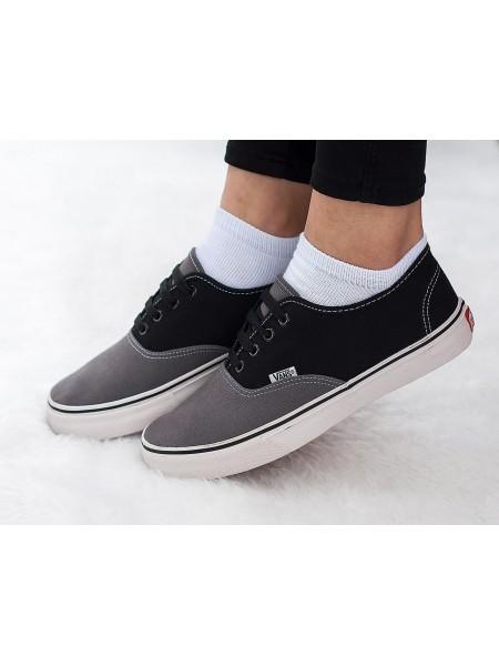 Кроссовки Vans Black Grey