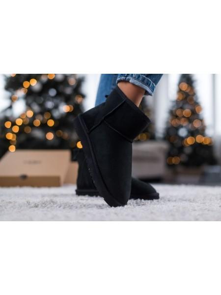 Кроссовки Ugg mini black